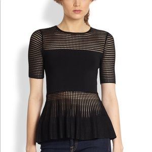 Torn by Ronny Kobo Tops - Torn By Ronny Kobo Peplum Top